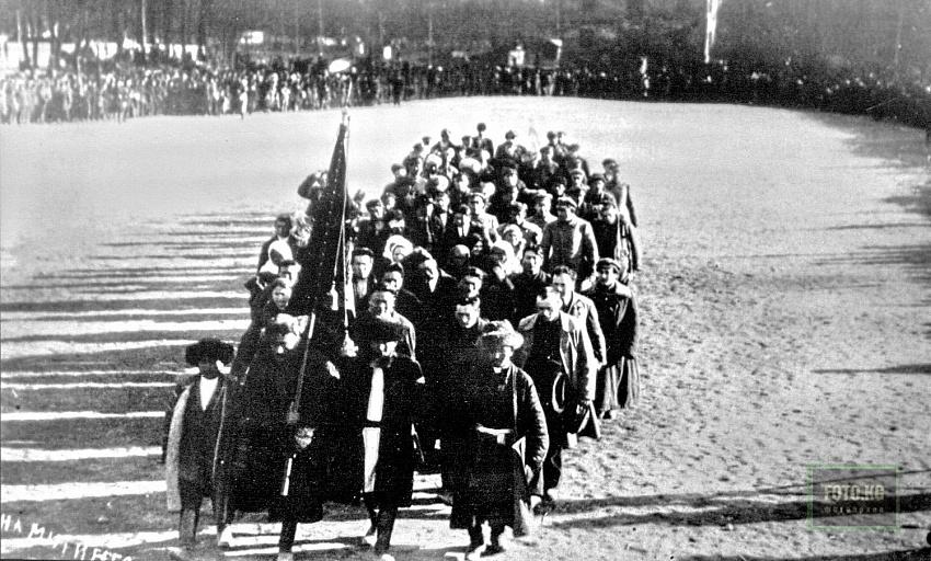 Праздничный митинг в честь Учредительного съезда Советов Киргизской АССР. Фото: foto.kg