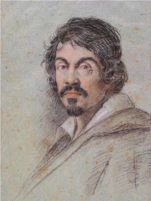 Портрет художника Микеланджело Мериси да Караваджо - Оттавио Леони