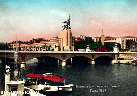 Советский павильон на Всемирной выставке в Париже 1937 г.