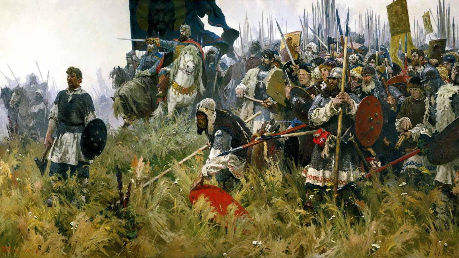 Победа в Куликовской битве