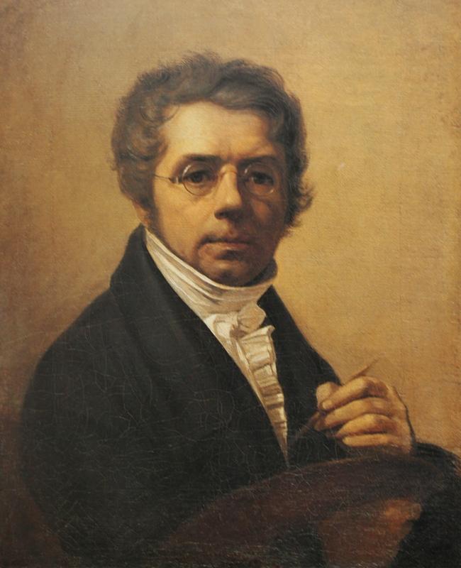 Венецианов Алексей«Автопортрет»1811Холст, масло67,5х56Государственный Русский музей