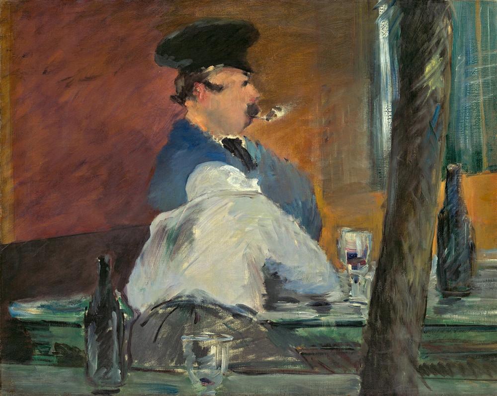 "Эдуард Мане ""Кабачок"", около 1878 года. Музей имени Пушкина."