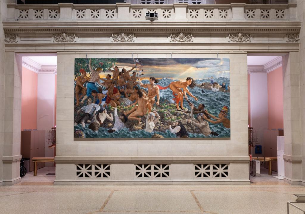 Взгляд на возрождение народа Кента Монкмана (2019). Фото Анны Мари Келлен любезно предоставлено Музеем искусств Метрополитен.