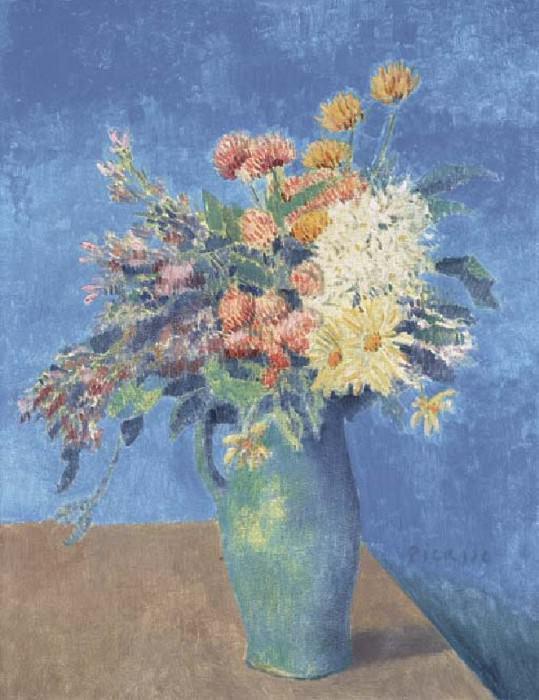 «Ваза с цветами» 1904 Пабло Пикассо.