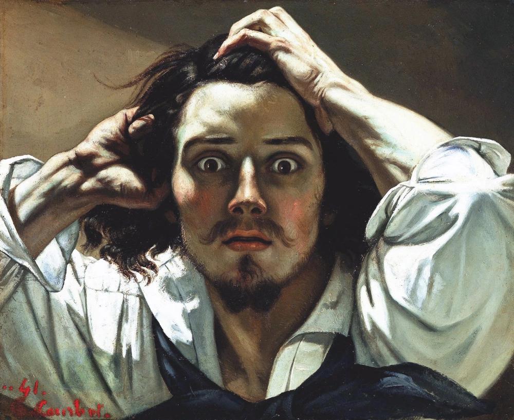 Автопортрет (Отчаявшийся мужчина)Гюстав Курбе45 × 55 см , 1845 г.