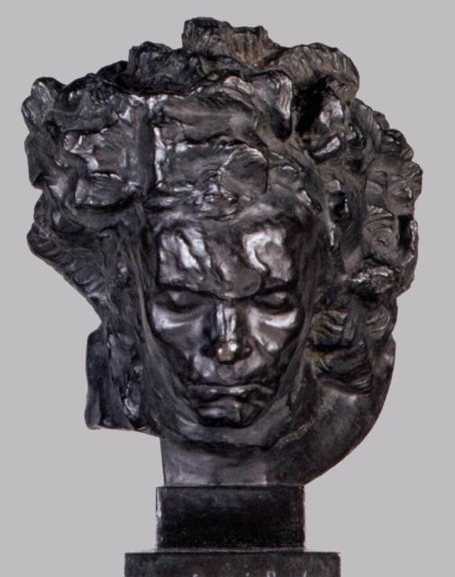 Эмиль Антуан Бурдель «Большая трагическая маска Бетховена» 1902г. Музей Бурделя. Париж