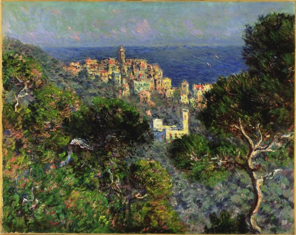 Клод Моне «Вид на Бордигеру», 1884, 66 × 81.8 см Музей Хаммера, Лос-Анджелес
