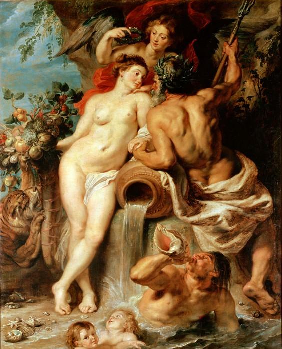 Союз Земли и Воды. Питер Пауль Рубенс (1577-1640) Эрмитаж