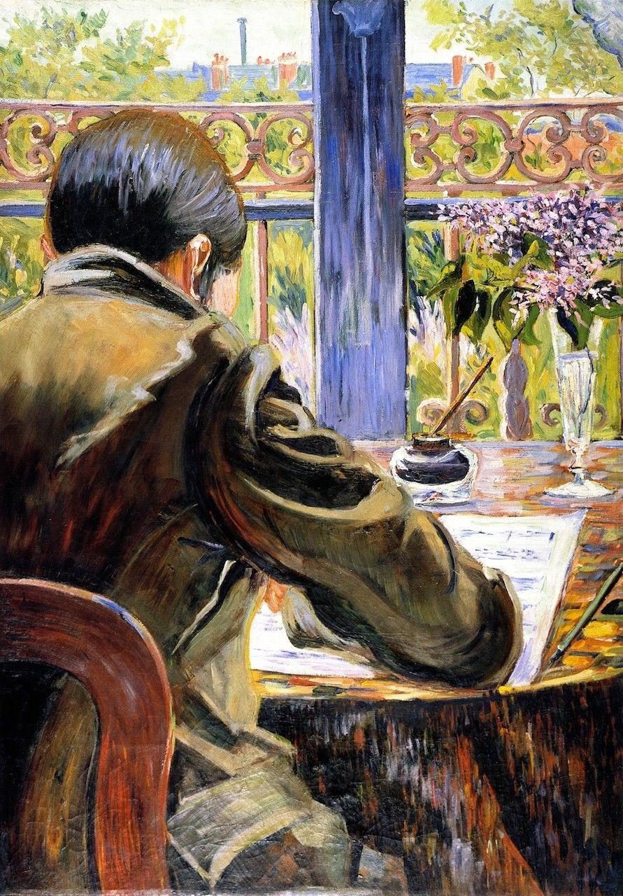 Чарльз Торке, увиденный со спины Поль Синьяк, 1883 частная коллекция. 92.5 x 65 см