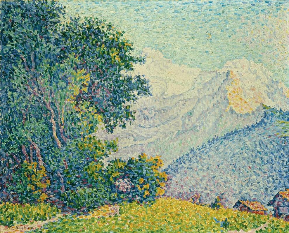 Дьяблере. Поль Синьяк 1903, 64 × 80 см, Частная коллекция