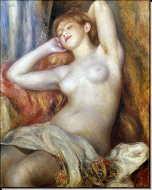 «Спящая женщина» Пьер Огюст Ренуар