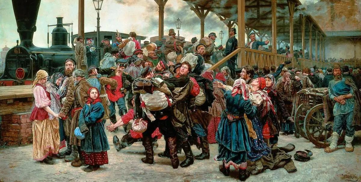 Война, Константин Аполлонович Савицкий, 1888, Государственный Русский музей, Санкт-Петербург