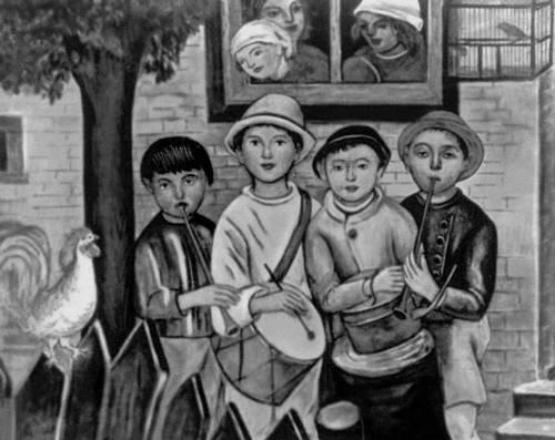 """""""Детская капелла"""" 1922г. Маковский"""