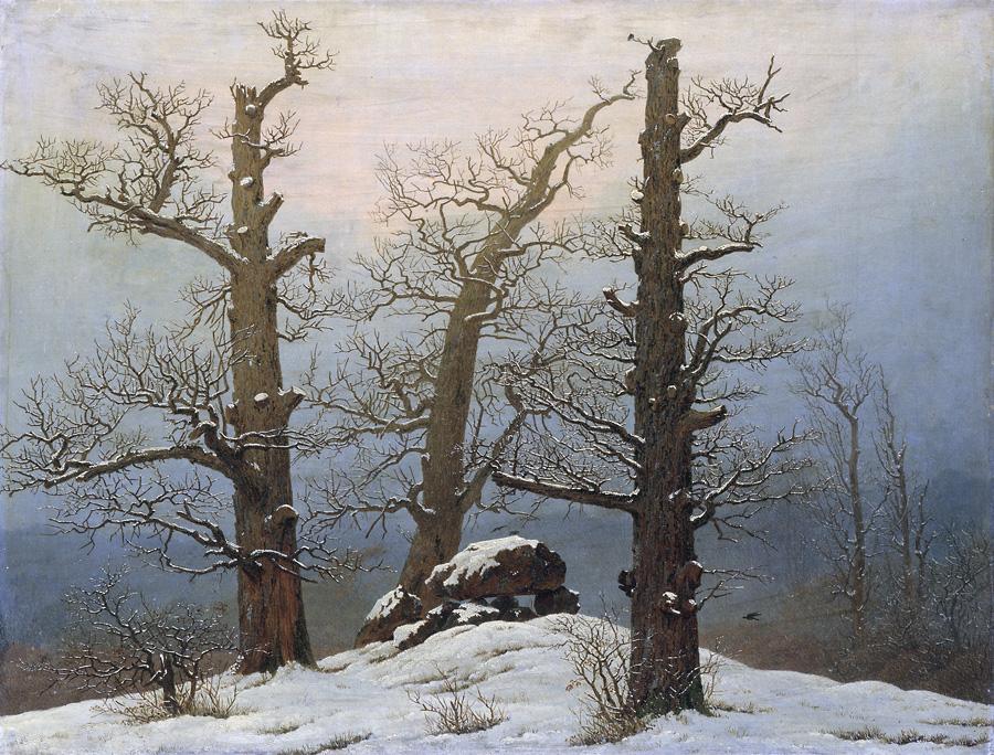 Могилы в снегу