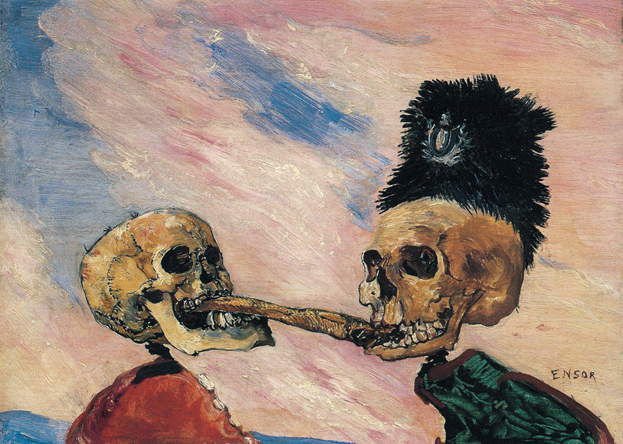 ensor_the_skeletons