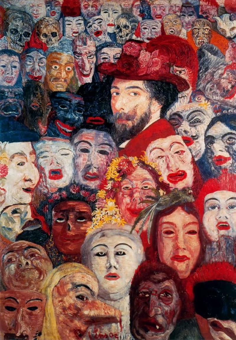 ensor_self-portrait