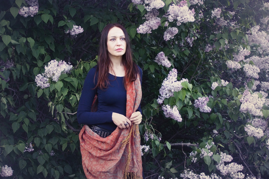 В ботаническом саду. Май 2015.