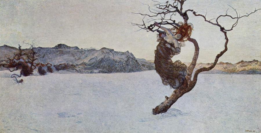 Джованни Сегантини. Злые матери. 1894.