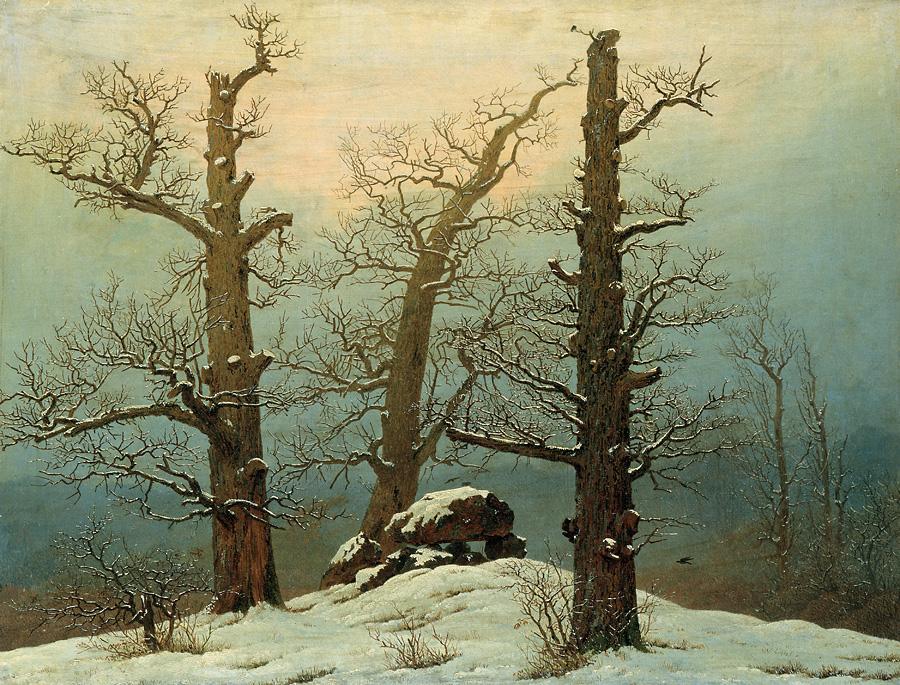 Древнее погребение под снегом