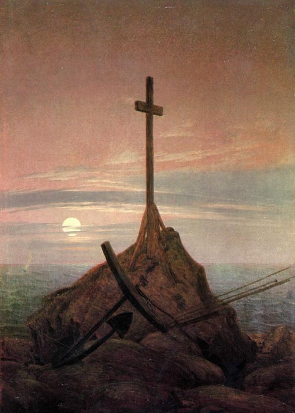 Крест рядом с Балтикой
