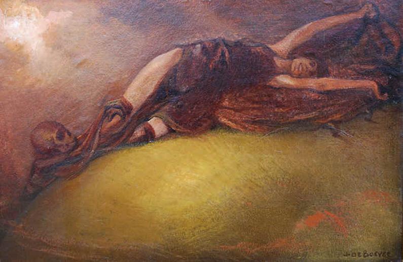 Ян Франс де Бувер. Вампир. 1920.