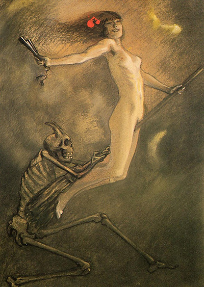 Ян Франс де Бувер. Ведьма.
