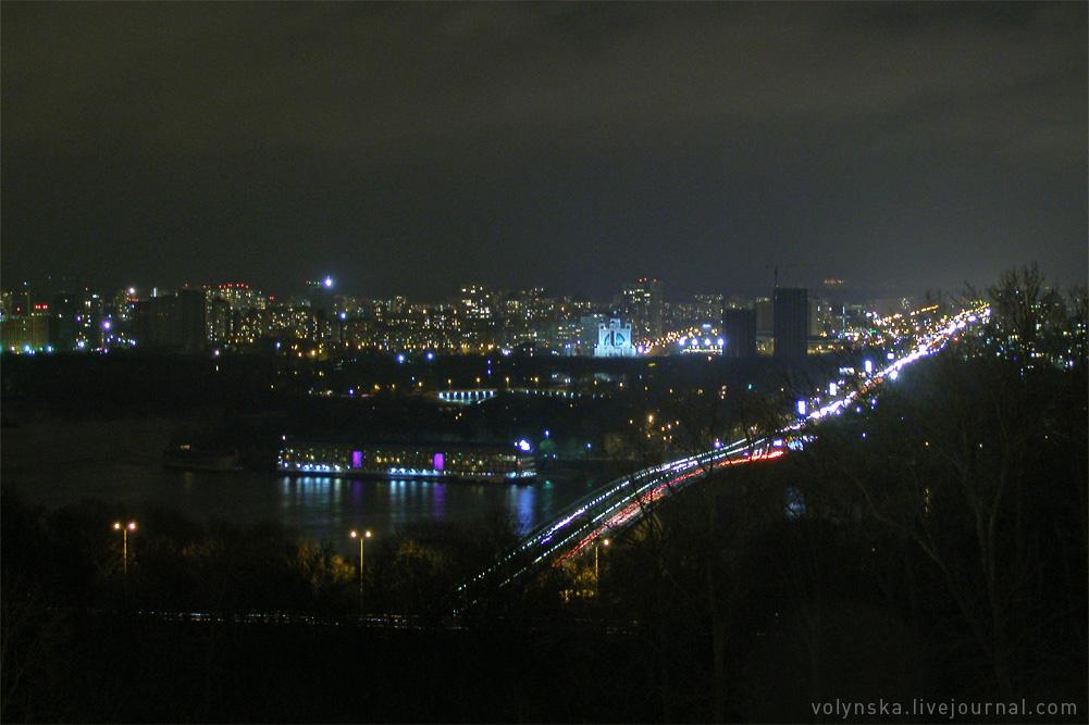 Мост метро. Декабрь 2016.