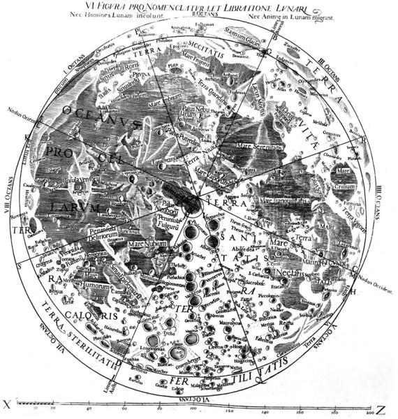 Карта Риччолли