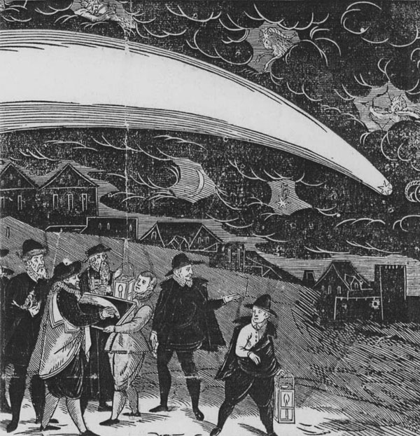 комета 1577 года