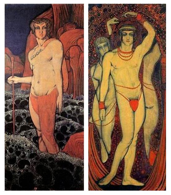 Тритон и Нудизм
