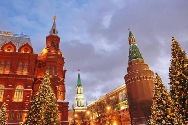 Путешествия по новогодней Москве