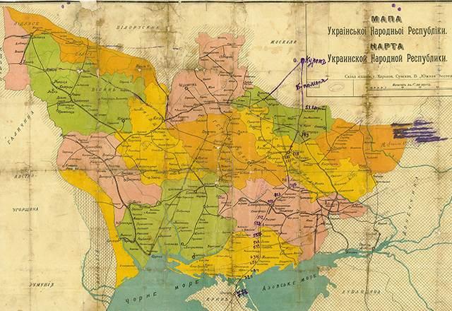 УНР-карта
