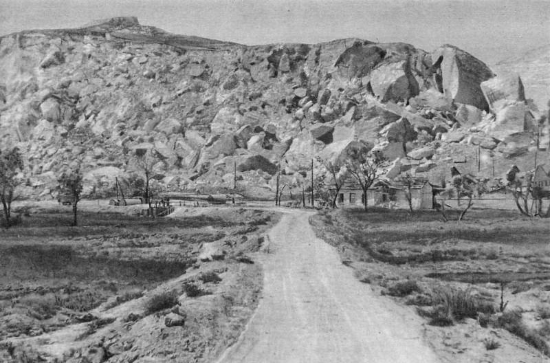 Инкерманские штольни после взрыва