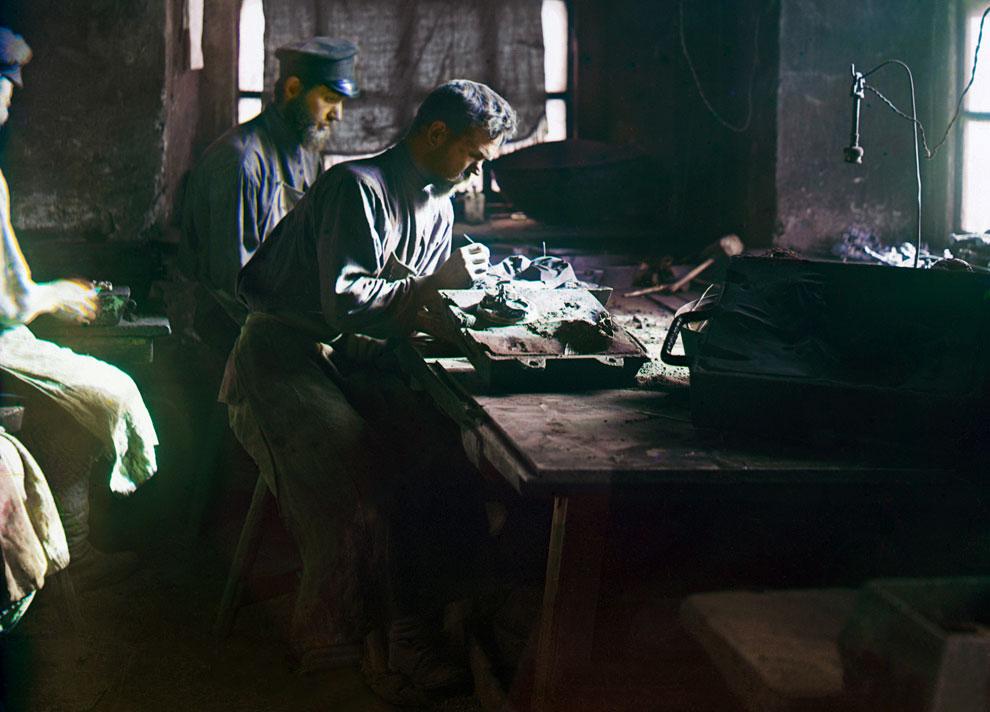рабочие Российской империи
