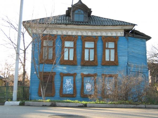 дом на ул.Луначарского