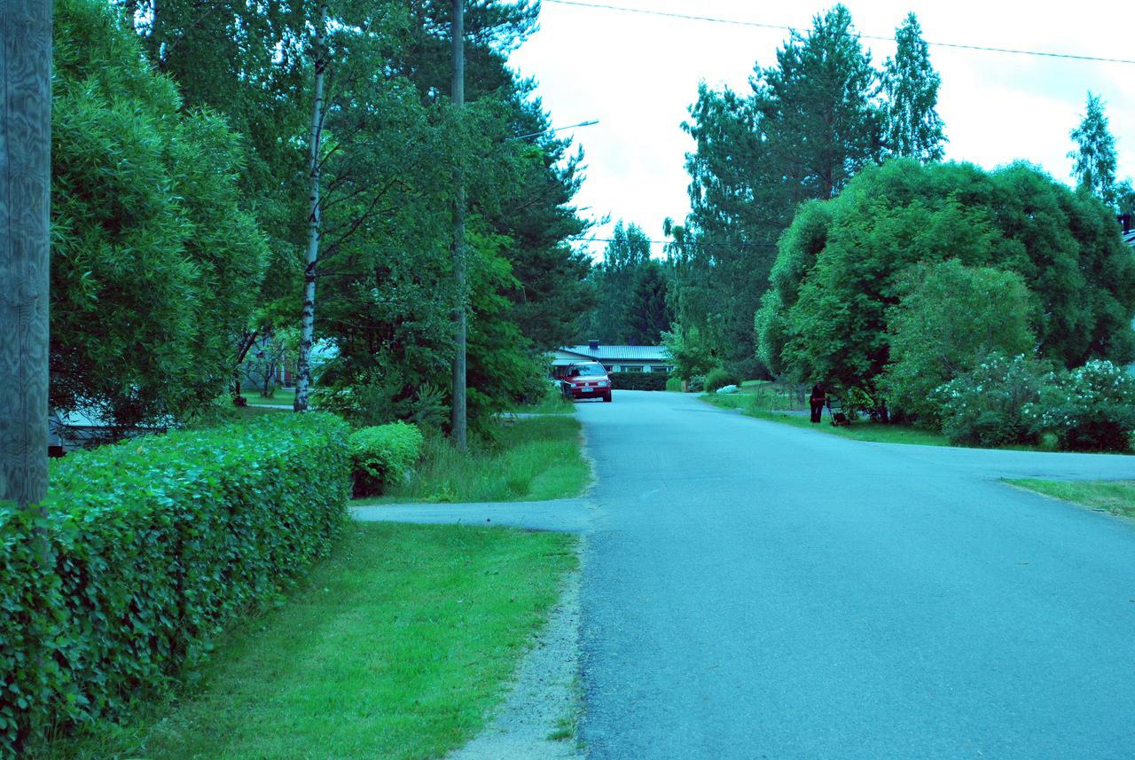 Опрятная финская деревня.
