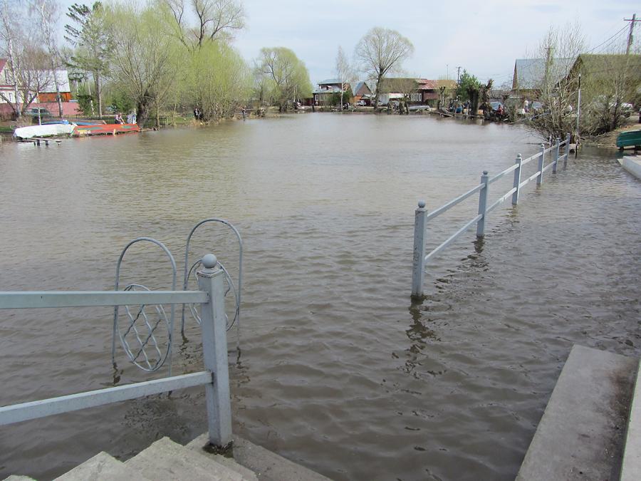 Затопленная ограда