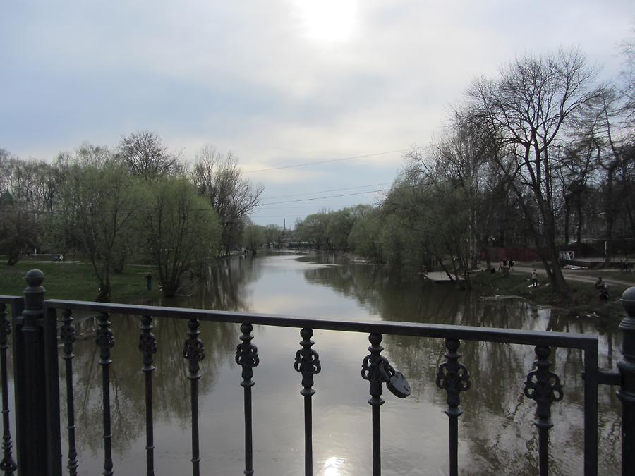 Вид с автомобильного моста