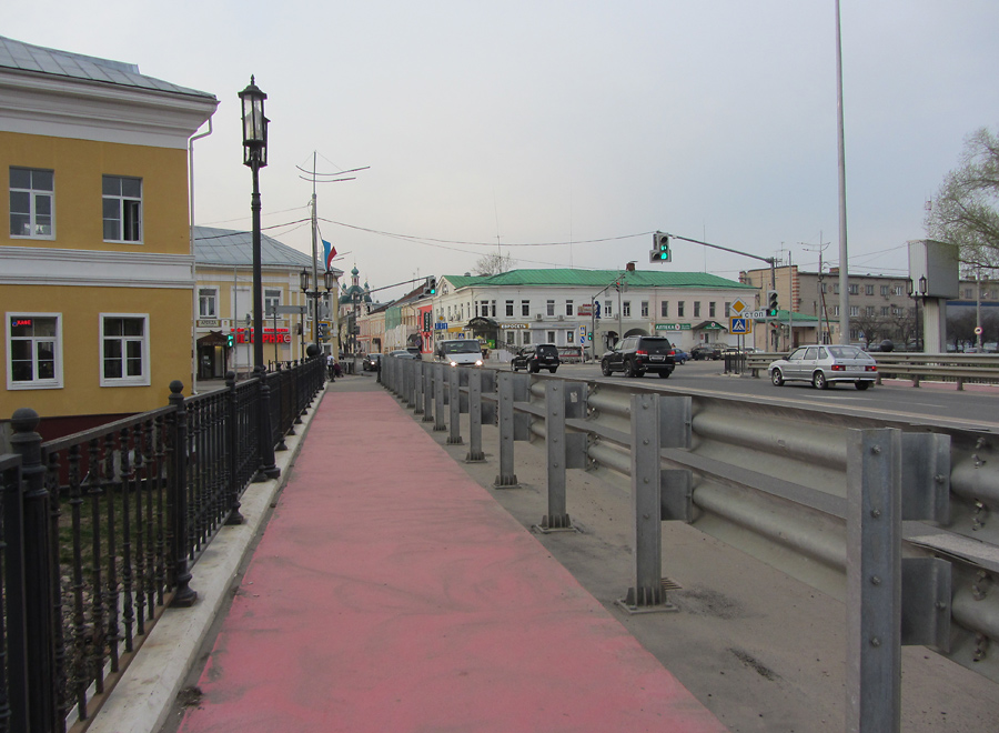 Мост. Центр Переславля