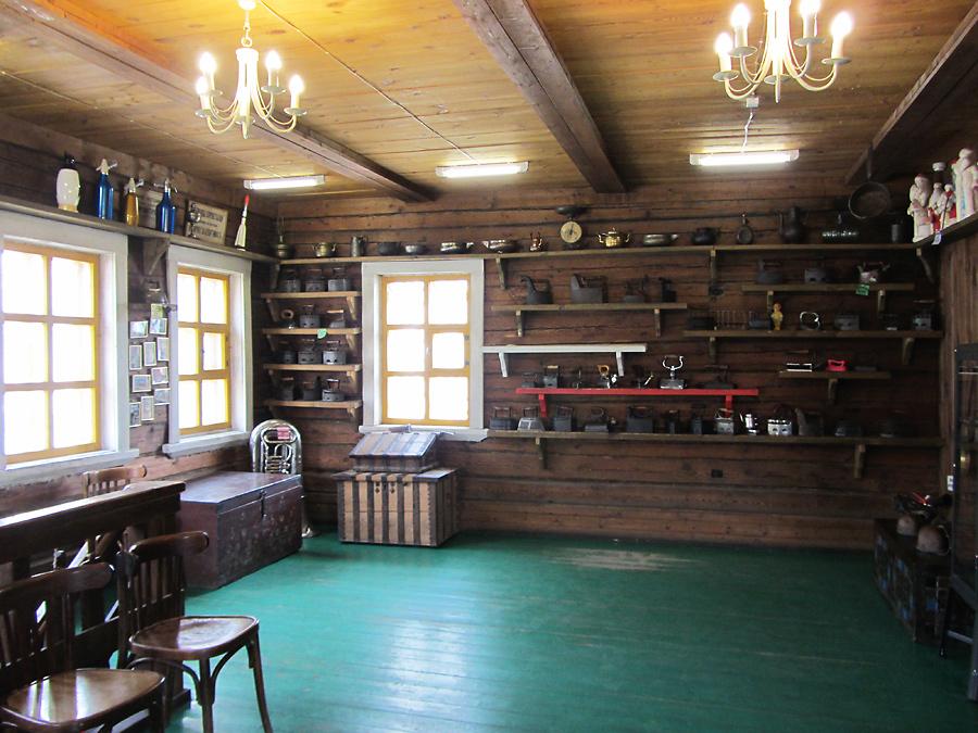 Музей утюга. Внутри