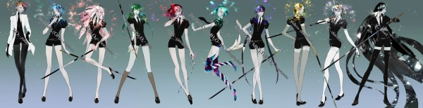 Houseki no Kuni (who is who)