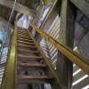 Колокольня в Гёттингене. Лестница (вид снизу).jpg