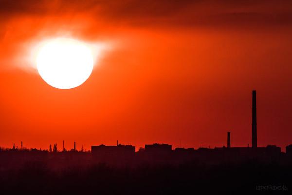 А. Шрайфель, «Солнце над городом»