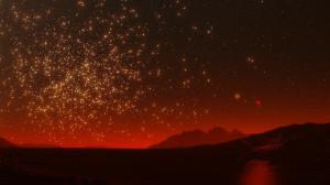 An icy planet orbiting a brown dwarf, near a globular cluster