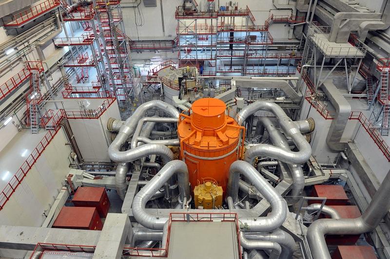 Ядерный реактор БН-800 на Белоярской АЭС