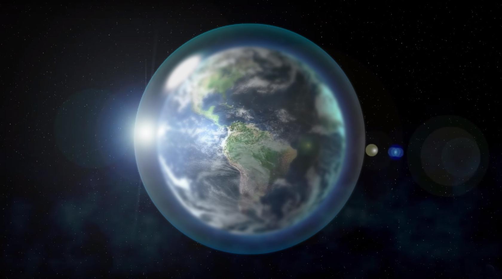Пароводяной купол Земли