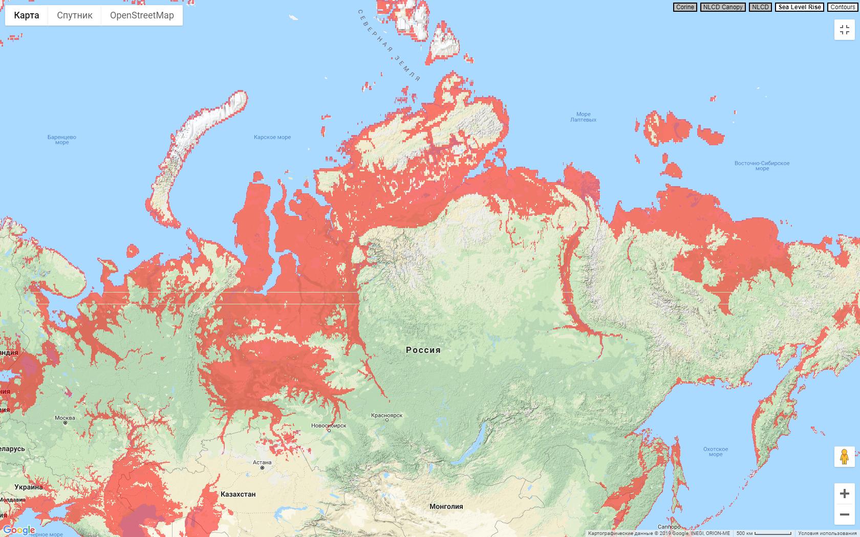 Россиия +330 футов