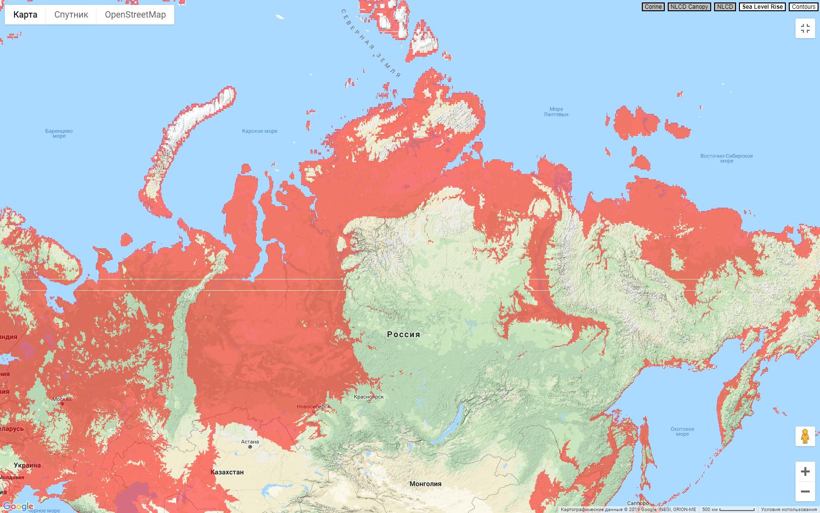 Россиия +600 футов