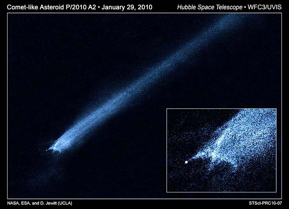 Комета в поясе астероидов