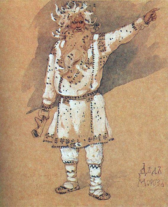 Дед мороз_В.М.Васнецов_1885
